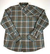 Vans Flannel Button Up Shirt Men's Medium Used #G1