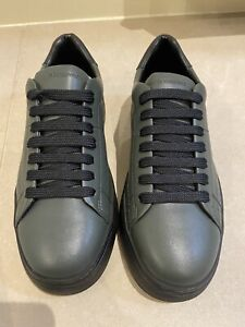 Emporio Armani Shoes Trainers Size 7 Mens New Green