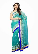 Veeraa Saree Exclusive Beautiful Designer Bollywood Indian Partywear Sari 114