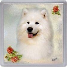 Samoyed Coaster Design No 3 by Starprint - Auto combined postage