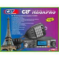 Radio CB CRT Megapro 80 canali 12 24v per Auto Camion Trattore Camion Van