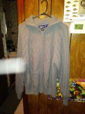 Women's Blair Grey Cardigan Sweater Size L