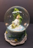 Jack And The Beanstalk Musical Snow Globe Plays when you wish upon a star