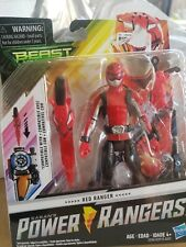 Hasbro Power Rangers Red Ranger - Beast Morphers 6-Inch Action Figure Toy Saban
