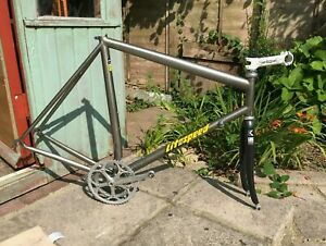 Litespeed Titanium Tuscany frame with original kestral fork and duraace chainset