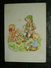Alte AK , Junge mit Ziehharmonika , E. Reinhardt , (C198)
