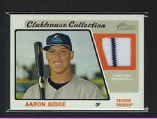 2015 Topps Heritage Minor Clubhouse *** AARON JUDGE Game Jersey Relic CCR-AJ