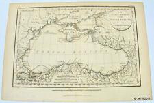 "Color Map Black Sea: ""The Palus Maeotis and Pontus Euxinus"" 1805 Turkey Russia"