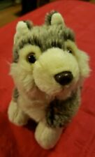 """Collectible """"Willow'"""" The Wolf By """"Kamik"""" Plush Animal"""