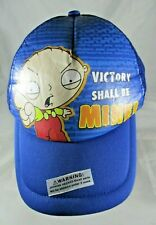 Family Guy Stewie Victory shall be mine! Adults Peaked Mesh Baseball Cap 2008.