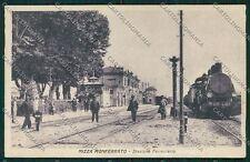 Asti Nizza Monferrato Treno Stazione cartolina QQ7128