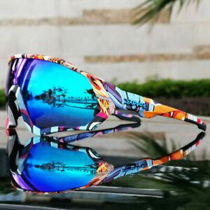 Men's Cycling Glasses Bike Bicycle Eyewear Outdoor Sports Polarized Sunglasses