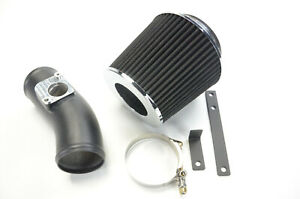 BLK ALLOY UPGRADE AIR INDUCTION FILTER KIT FOR MAZDA MX5 MK3 1.8 2.0 2005-2015