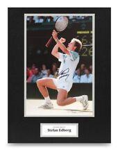 Stefan Edberg Signed 16x12 Photo Display Wimbledon Tennis Autograph Memorabilia