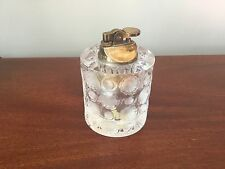 LALIQUE Crystal Glass Table Top Lighter