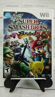 Super Smash Bros. Brawl Nintendo  Wii Game Includes Manual