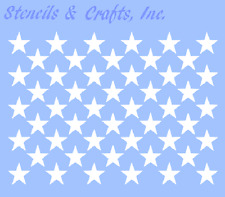 "0.65"" Star 50 Stars Celestial Stencils Paint Art Background Flag Craft New"