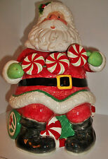 Fitz & Floyd Hard-to-Find 'Peppermint Santa' Cookie Jar