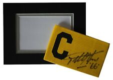 Geoff Hurst  Signed Captains Armband free display England AFTAL & COA