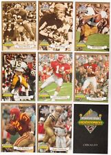 1994 Ted Williams Company Path To Greatness 9 Card Set - Roger Staubach