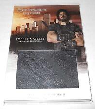 Mortal Instruments City of Bones Costume Trading Card #W-RMI Robert Maillet