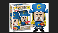 Funko Pop Cap'n Crunch #14 Ad Icons Exclusive NEW DAMAGED BOX