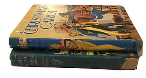 Vintage/Retro/Staging Books: A CHRISTMAS CAROL & JUDY, PATROL LEADER-50'S DECOR