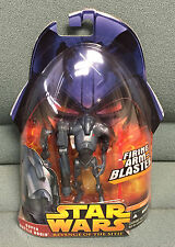STAR WARS Revenge Of The SITH Collection-1 #4 SUPER BATTLE DROID -Hasbro 2005