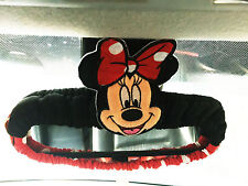Minnie Mouse Disney Car Accessory #Red : Rear View Mirror Cover