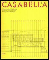 Architettura  Casabella  n. 493 luglio agosto 1983 Direttore Gregotti