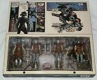 NECA TMNT Mirage The Shredder Foot Clan Set NYCC 2016 COMPLETE SDCC EXCLUSIVE