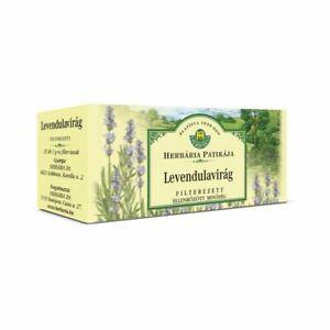 Lavender Lavandulae flos Calming Sleep aid digestion Natural Herbal Tea 25x1g