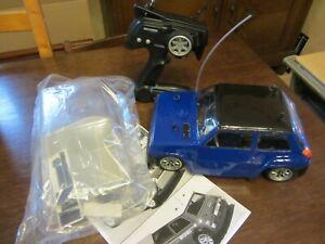 Tamiya Rover Mini Cooper m-03 Chassis Renault R5 Karosserie RtR + 2. Karosserie