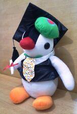 "2005 The Pygos Group x Banpresto Exclusive Pingu Pinga graduation 13"" plush"