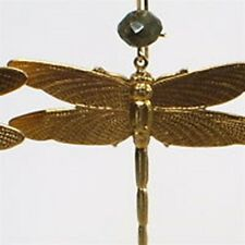 Dragonflies Dragonfly Earrings with Labradorite Stone by Zulasurfing