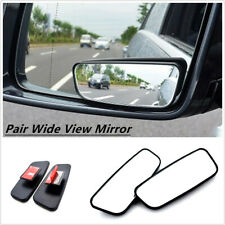 2x Wide Angle Rearview Blind Spot Add-On Mirrors Auxiliary For Safety Left+Right