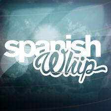Español Whip Funny reducido Auto, Ventana, parachoques euro Drift Vinilo calcomanía adhesivo