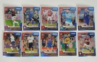 2019-20 Panini Prizm Premier League Soccer Red White Blue (10) Card Lot EPL Star