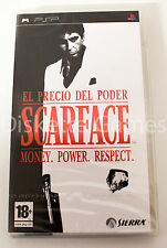 Scarface Money.power.respect Sony PSP PAL