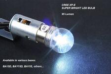 1156 LED Auto Bulb - CREE XP-E, Super Bright Cool White LED - Protective Cover -