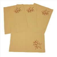 Give Thanks Place Mats 13.5x19 inches Cotton Set of 4