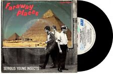 """SERIOUS YOUNG INSECTS - FARAWAY PLACES - RARE EP 7"""" 45 VINYL RECORD PIC SLV 1982"""