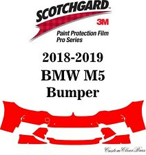 3M Scotchgard Paint Protection Film Pro Series Clear 2018 2019 BMW M5