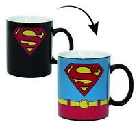 Superman Thermoeffekt Tasse Kostüm - Wärmeeffekt Kaffeetasse Kaffeebecher 320ml
