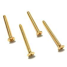 "Neck Plate Screws Gold 1-3/4"" Gs-0005-002"