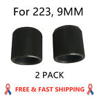 2 Pack Thread Protector Steel Black