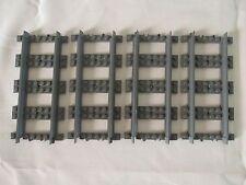 LEGO Train Track Straight 16L (17275 / 53401) x 4