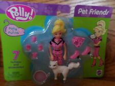 2003  Fashion Polly pocket PET FRIENDS  Complete set of 4  Great for EASTER