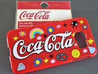 NEU Coca Cola HANDY HÜLLE Coke SCHUTZHÜLLE Samsung Galaxy S6 HARDCASE COVER Rot