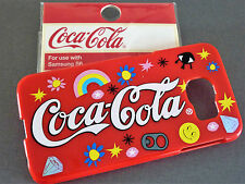 Coca Cola HANDY HÜLLE Coke SCHUTZHÜLLE Samsung Galaxy S6 HARDCASE COVER Rot Neu